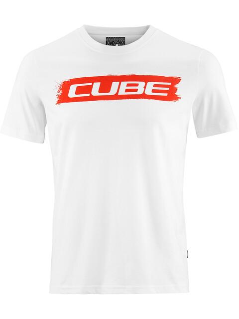 Cube Logo 2.0 T-Shirt Herr vit